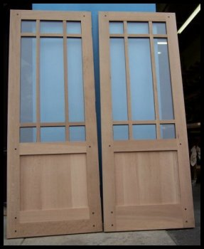 Heart of oak workshop authentic craftsman mission style for French door styles exterior